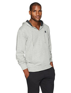 Flying Ace Men's French Terry Baja Pullover Sweatshirt with Logo Embroidery XXX-Large Grey Heather