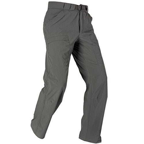 FREE SOLDIER Outdoor Men's Lightweight Waterproof Quick Dry Tactical Pants Nylon Spandex(Gray 38W/30L)