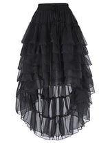 Belle Poque Women Gothic Steampunk Skirt With Draw String BP227