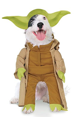 Rubie's Star Wars Collection Pet Costume, Yoda with Plush Arms, Medium
