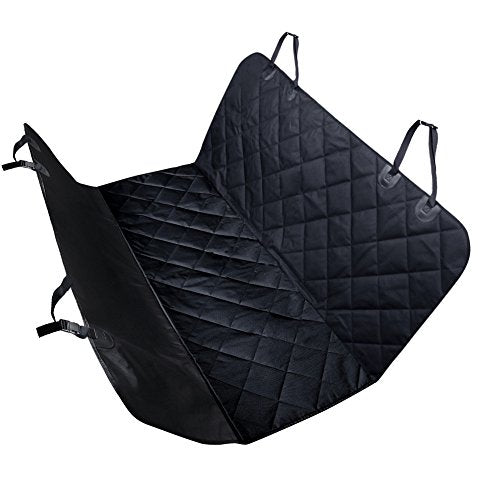 URPOWER Pet Seat Cover Car Seat Cover for Pets - Waterproof & Scratch Proof & Nonslip Backing & Hammock, Quilted, Padded, Durable and Machine Washable Pet Seat Covers for Cars Trucks and SUVs
