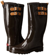 Chooka Women's Tall Rain Boot, Espresso, 9 M US