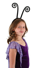 elope Spiral Black Antenna Headband for Kids