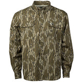 Mossy Oak Men's Tibbee Lightweight Hunting Shirt in Multiple Camo Patterns