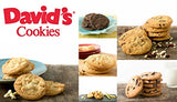 David's Cookies — Assorted Fresh-Baked Cookie Gift Tin — Contains 12 Fresh Cookies — Fresh Homemade Cookies — No Added Preservatives — All-Natural Cookies — 1 lb. Gift