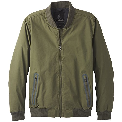 prAna Brookridge bomber Jacket, Cargo Green, X-Large
