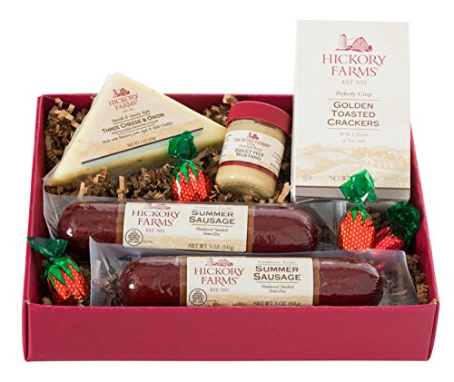 ... Hickory Farms Double Sausage and Cheese Sampler Gift Set (1.0 Lbs) ...