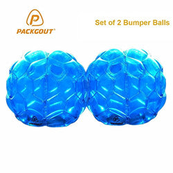 PACKGOUT Bumper Balls, Inflatable Body Bubble Ball Christmas Gifts Sumo Bumper Bopper Toys for Kids & Adults 36
