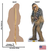 Advanced Graphics Chewbacca Life Size Cardboard Cutout Standup - Star Wars Classics (IV-VI)