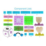 Circuit Kit With Lighted Bricks 115 Different Projects in 1, Best STEM Educational Gift for Boys and Girls Ages 6 - 14, Science Experiment Kit w Electronic Blocks, 34pcs, Circuits for Kids by Pantheon