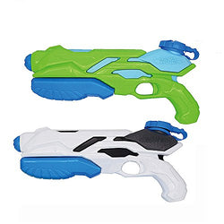 Water Gun 2 Pack, Large Capacity Squirt Gun, Party and Outdoor Activity Water Fun Toys for Children and Adults.