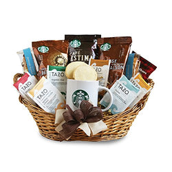 California Delicious Starbucks Daybreak Gourmet Coffee Gift Basket
