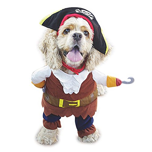 NACOCO Pet Dog Costume Pirates of the Caribbean Style (Medium)