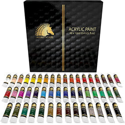 Acrylic Paint Set - 48 x 12ml Tubes - Artist Quality Art Paints - MyArtscape