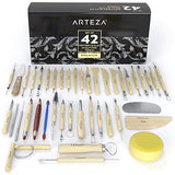 Arteza Pottery & Clay Sculpting Tools (Set of 42)