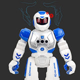 Kanzd RC Remote Control Robot Smart Action Infra-Red Allows Gesture Control Kids Toy Boys Car Toy (A)