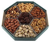 GIVE IT GOURMET, Freshly Roasted Delicious Healthy Nuts Holiday Gift Basket (Large Gift Tray)