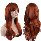 "AKStore Fashion Wigs 28"" 70cm Long Wavy Curly Hair Heat Resistant Wig Cosplay Wig For Women With Free Wig Cap"