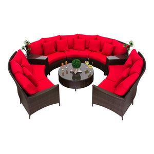 Showstopper Collection - 9pc. Sectional