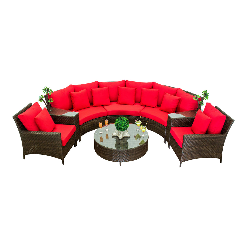Showstopper Collection - 8pc. Sectional