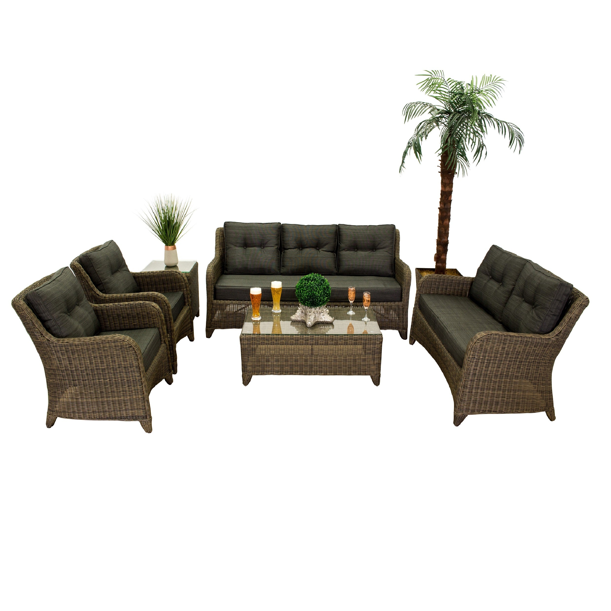 The Classic -  6pc. Sofa Set
