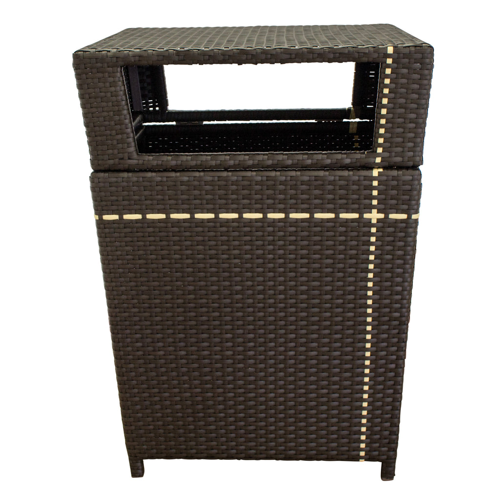 Pinstripe Collection - Trash Bin