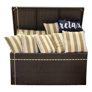 Pinstripe Collection - Storage Bin / Cushion Box