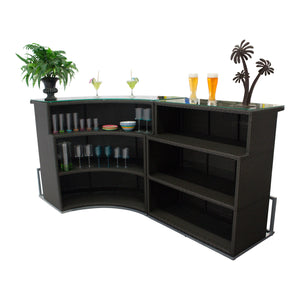 Resort Collection - Bar Set W/Storage