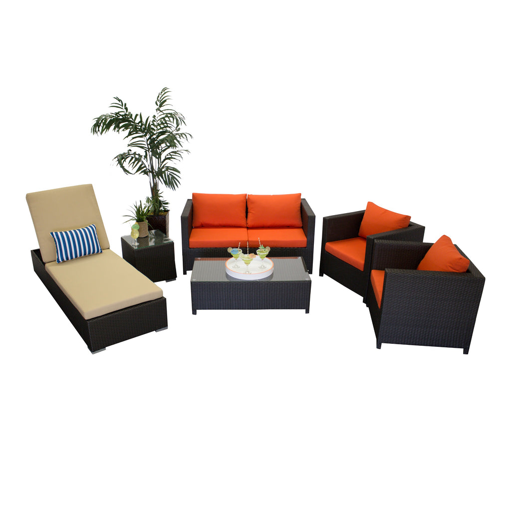 Resort Collection - 6pc. Sofa Set