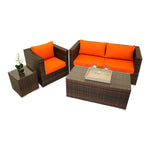 Ocean Park Collection - 4pc. Sofa Set