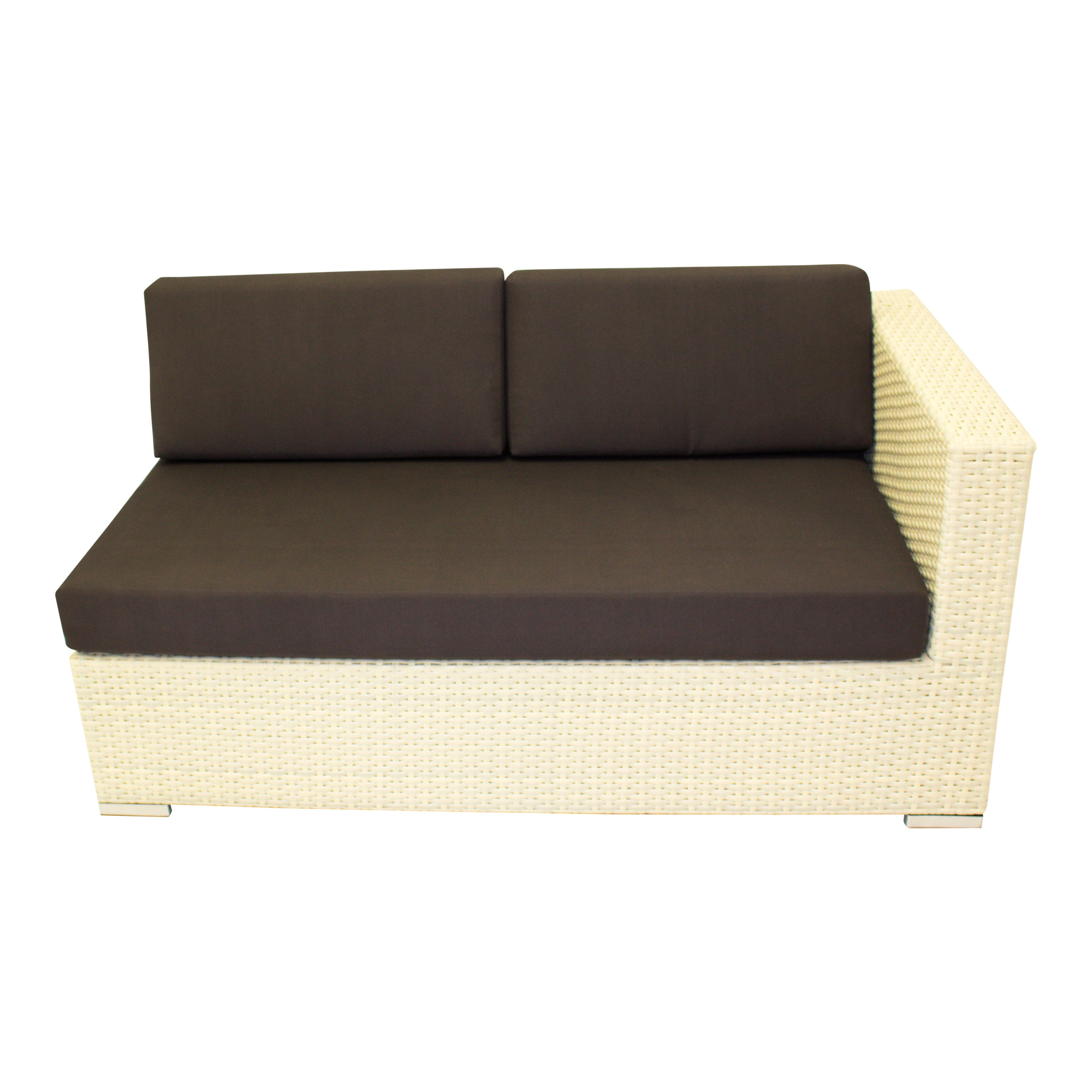 Why Not White - Loveseat