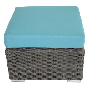 Mighty Gray Collection - Ottoman