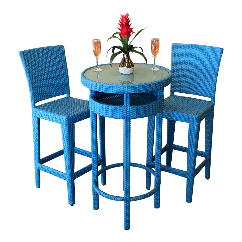 Fiesta Collection - Bar Table Sets W/Storage