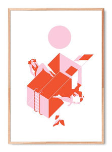 Women illustration poster by Helena Sbeghen
