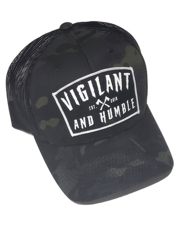 Multicam Black Trucker