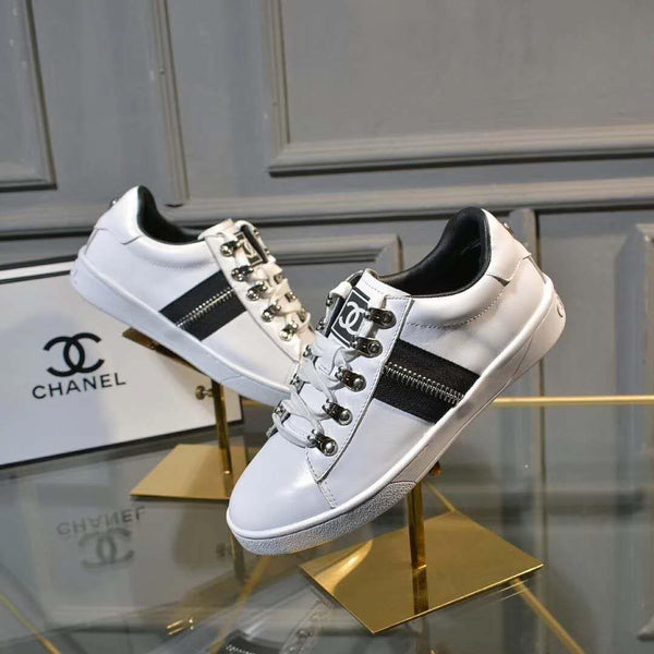 2019 Chanel shoes Cowhide + sheepskin cheap womens and mens