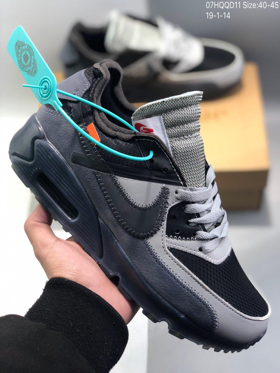 NIKE Air Max 90 x OFF-WHITE Men's and