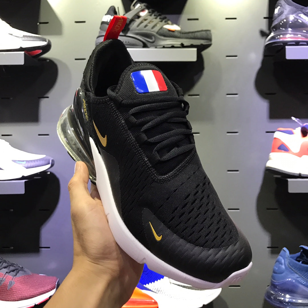 Nike 270 Russia World Cup France Team Champion Edition NIKE AIR MAX 270  FLYKNIT Real Air Cushion 001 – ilovetrade b9f2dc8af420