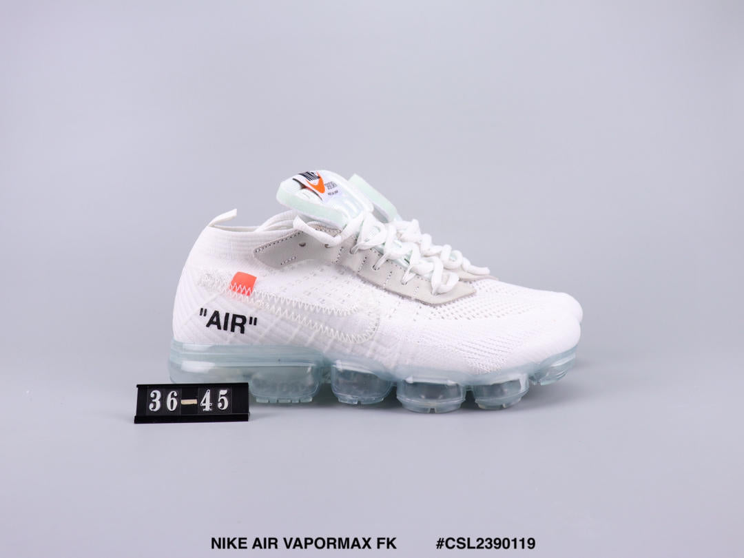 buy popular d5ae9 ef39d OFF WHITE x NIKE AIR VAPORMAX FK 2018 cheap Men's and women's nike shoes
