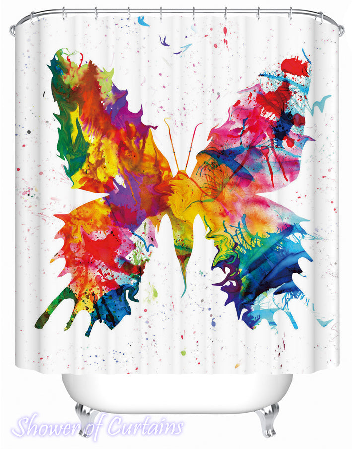 Butterfly Shower Curtain Blog Collection Logo