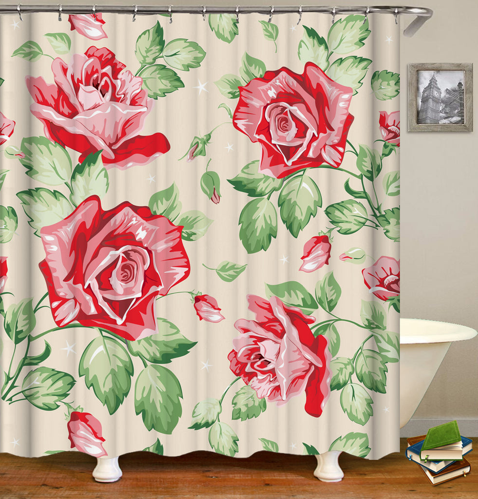Floral Showr Curtain Logo