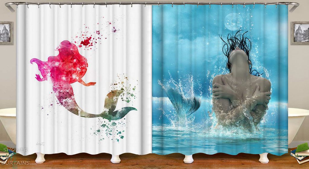 Kids and Men's Shower Curtains