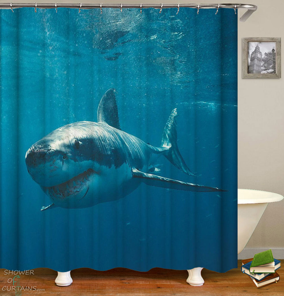 Shark Shower Curtains