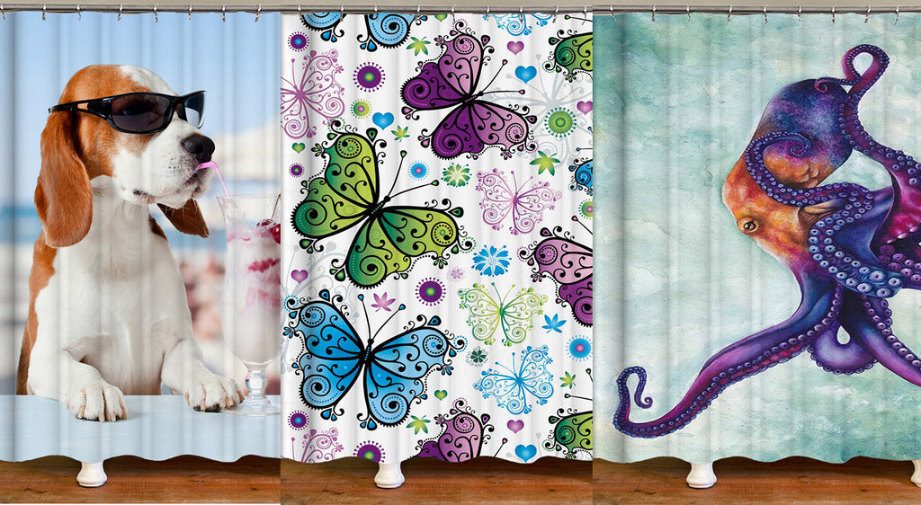 Shower Curtains – Animal Themed