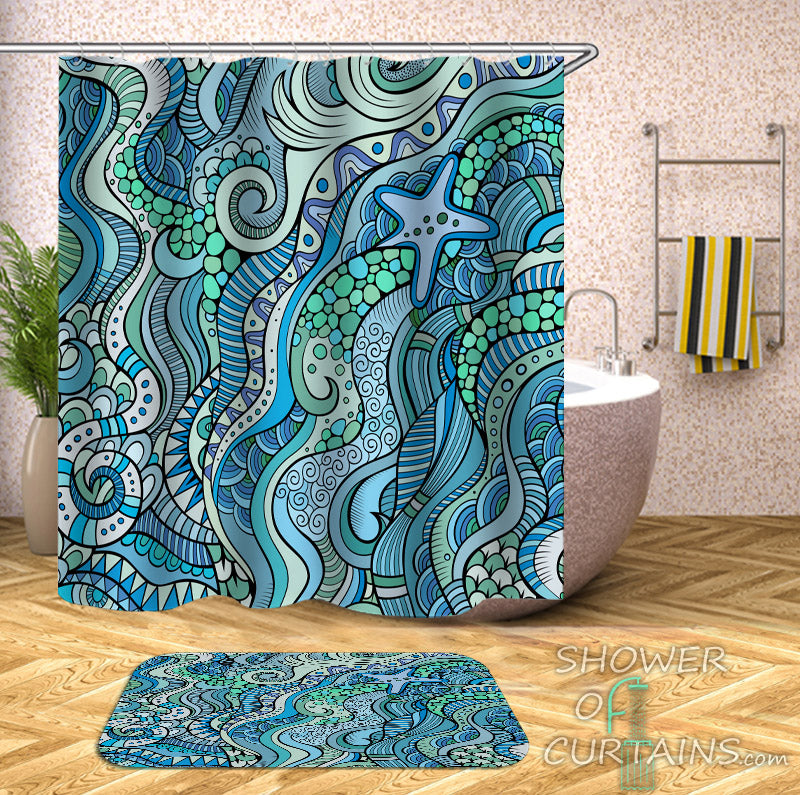 Shower Curtains Ocean Theme