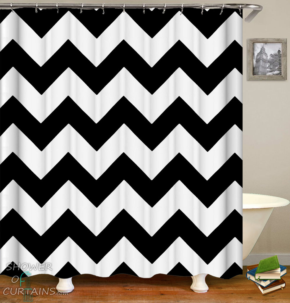 Simple Shower Curtains