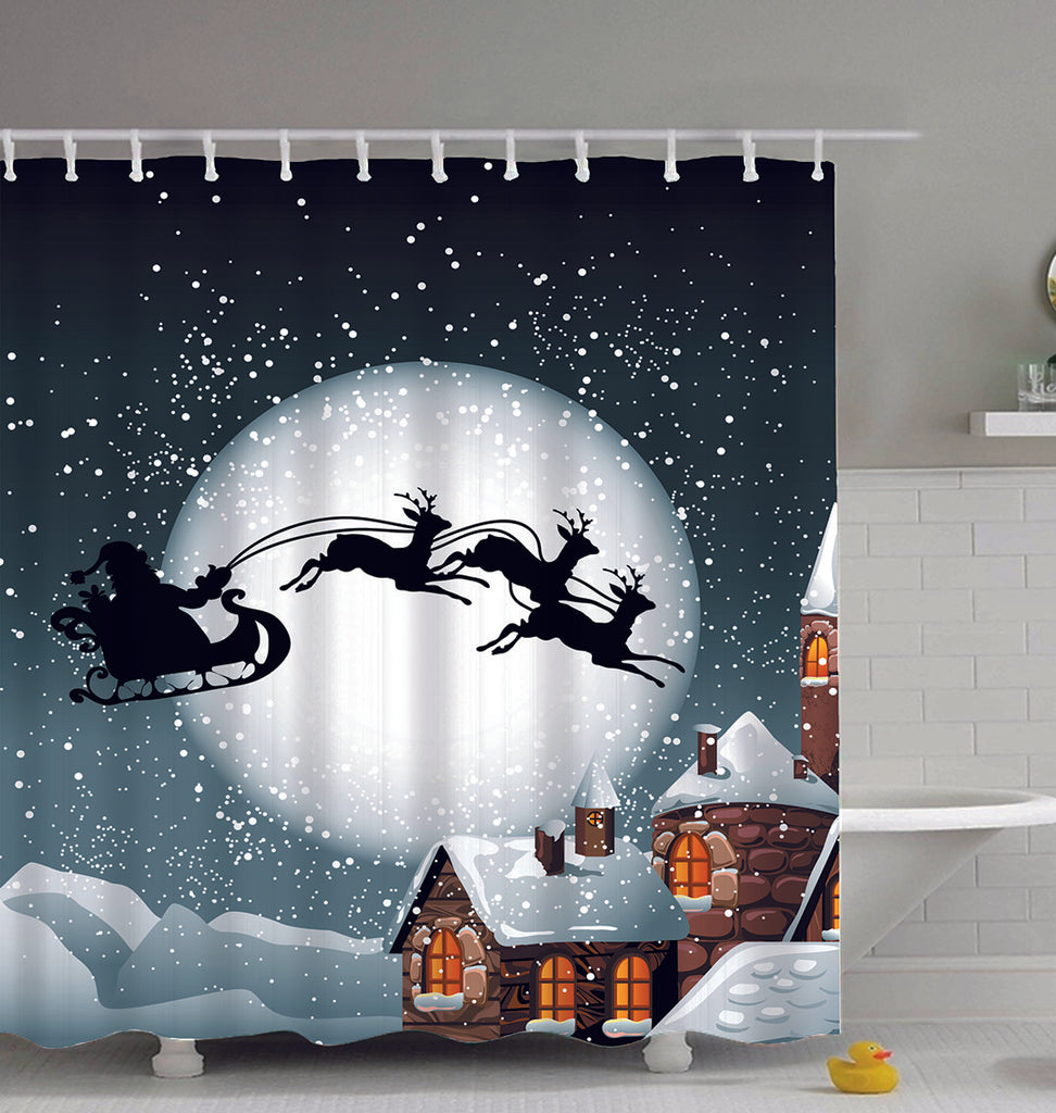 holiday shower curtains blog