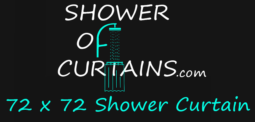 72x72 Shower Curtain