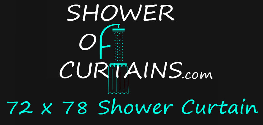 72x78 Shower Curtain