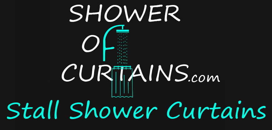 ‏‏Stall Shower Curtains - 48 x 72